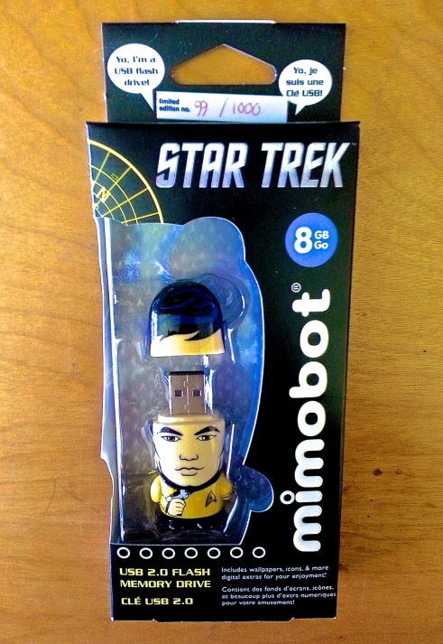 Limited Edition Mr. Sulu MIMOBOT Designer USB flash drive!