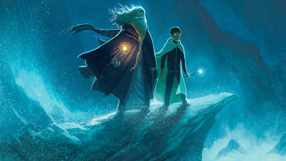 Harry Potter Book Cover Hd ~ New harry potter anniversary cover art by kazu kibuishi