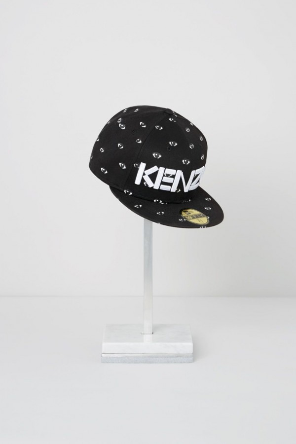 "3af41d46d67 Kenzo and New Era Caps collaborate for ""Eye"" Cap Collection"