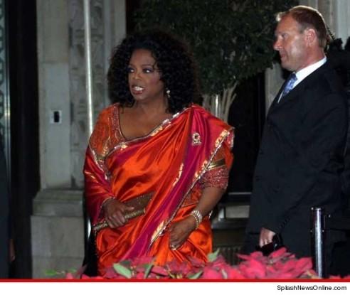 oprah-wears-sari