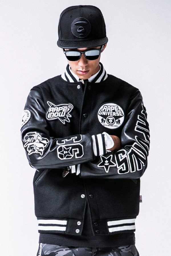 bcf70f791f4 AAPE by A Bathing Ape 2013 Winter Lookbook