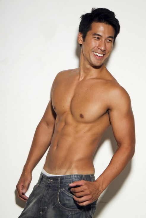Picture 1 cesar chang hot asian shirtless male model sexy great beautiful smile