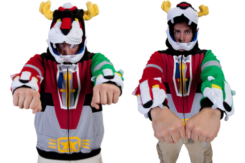 The Voltron... hoodie?
