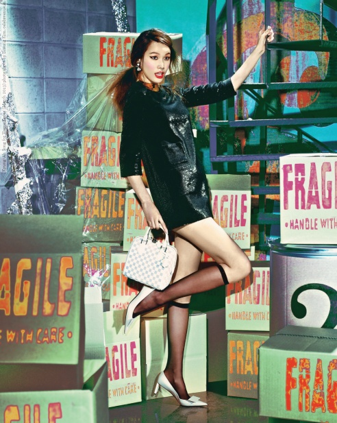 Kyung-Ah Song for Vogue Korea (March 2013) photo shoot by Bosung Kim