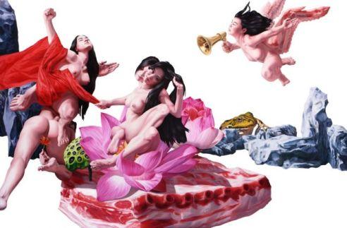 5290_9_Nguyen-Xuan-Huy-Die-Geburt-der-Venus-nach-Botticelli
