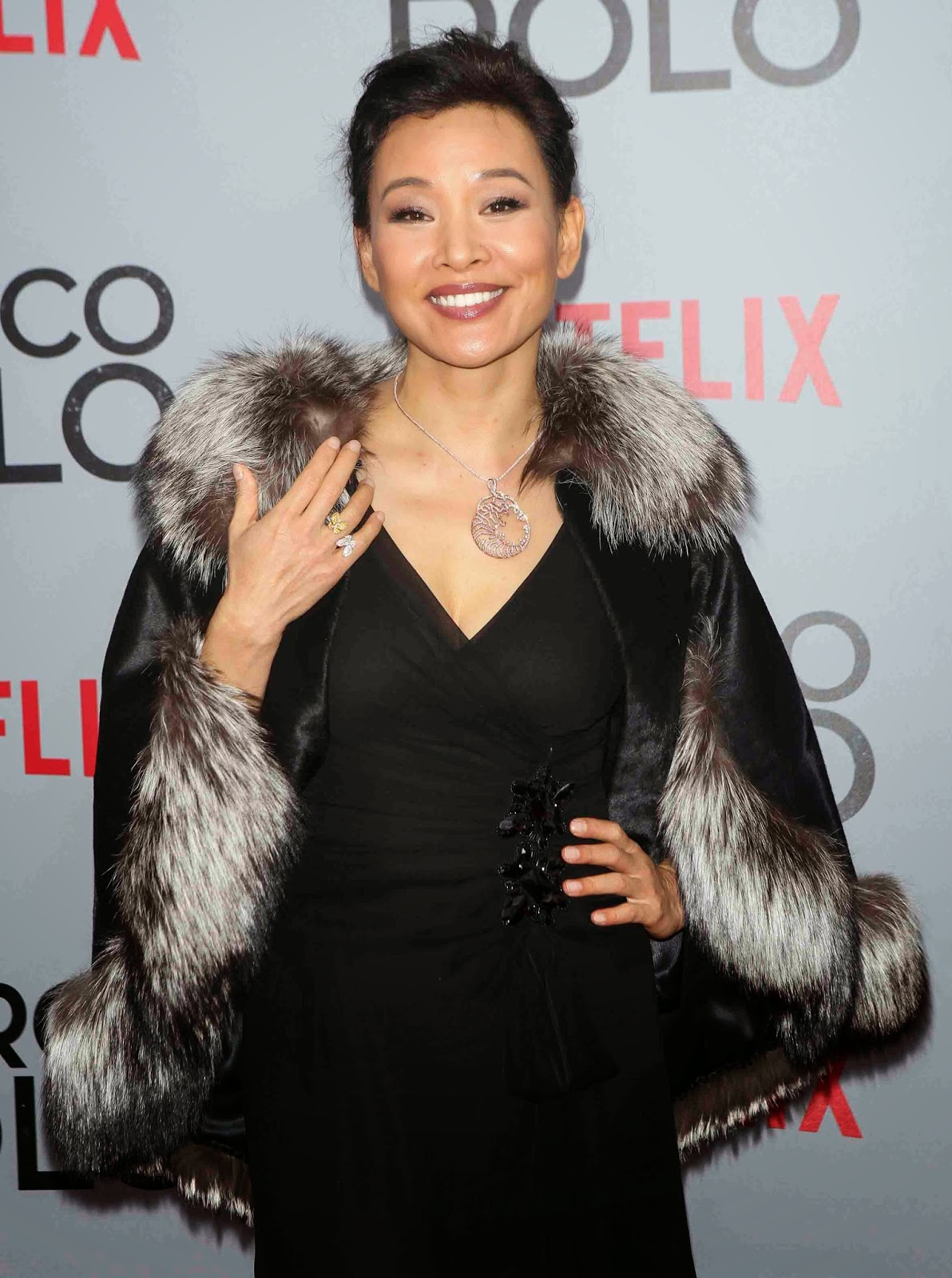 Catch Joan Chen in the Netflix series 'Marco Polo' | TEAM YELLOW