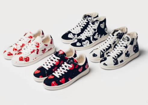 c76ecff7a418 COMME des GARÇONS PLAY x Converse Pro Leather Collection. Screen Shot  2015-12-31 at 10.04.36 AM